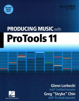 Producing Music with Pro Tools 11 Cover Image