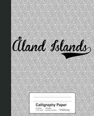 Calligraphy Paper: ALAND ISLANDS Notebook Cover Image