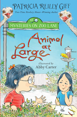 Cover for Animal at Large (Mysteries on Zoo Lane #2)