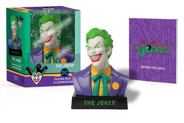 The Joker Talking Bust and Illustrated Book (RP Minis) Cover Image