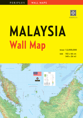 Cover for Malaysia Wall Map First Edition