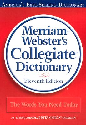 Merriam-Webster's Collegiate Dictionary Cover Image