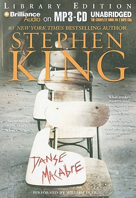 danse macabre essay by stephen king In the autobiographical work danse macabre, stephen king recalls how his family  this essay is about the life and times of stephen king and the influences he has.
