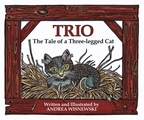 Trio: The Tale of a Three-Legged Cat Cover Image