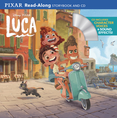 Luca Read-Along Storybook and CD Cover Image