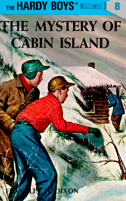 Hardy Boys 08: the Mystery of Cabin Island (The Hardy Boys #8) Cover Image