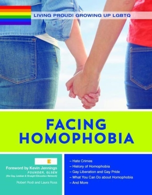 Living Proud! Facing Homophobia (Living Proud! Growing Up Lgbtq #10) Cover Image