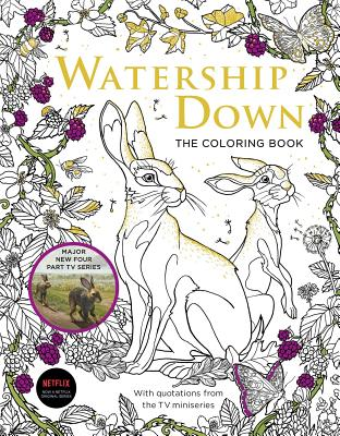 Cover for Watership Down The Coloring Book