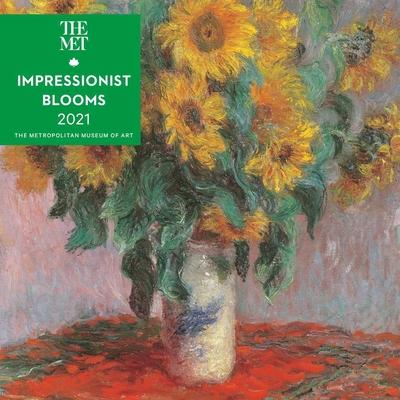 Impressionist Blooms 2021 Mini Wall Calendar Cover Image