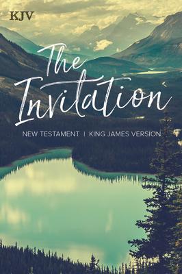 KJV The Invitation New Testament Cover Image