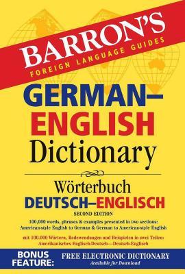 German-English Dictionary (Barron's Bilingual Dictionaries) Cover Image