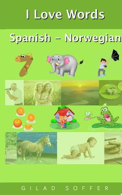 I Love Words Spanish - Norwegian Cover Image