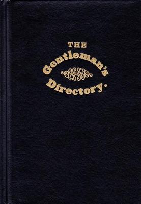 The Gentleman's Directory (Applewood After Dark) Cover Image