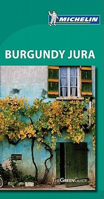 Michelin Green Guide Burgundy Jura Cover