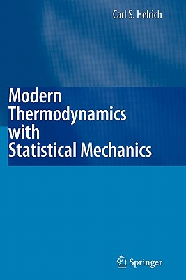 Cover for Modern Thermodynamics with Statistical Mechanics