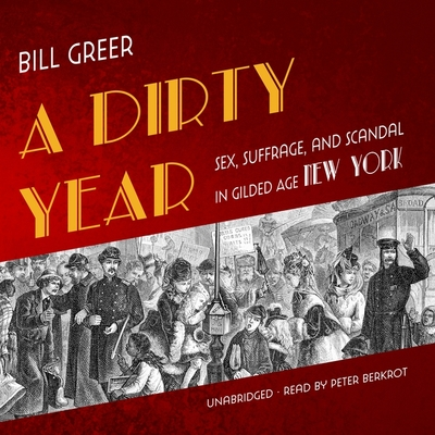 A Dirty Year: Sex, Suffrage, and Scandal in Gilded Age New York Cover Image