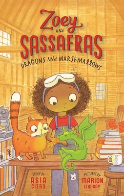Dragons and Marshmallows (Zoey and Sassafras #1) Cover Image