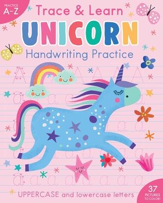 Trace & Learn Handwriting Practice: Unicorn (iSeek) Cover Image