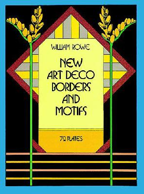 New Art Deco Borders and Motifs (Dover Pictorial Archives) Cover Image
