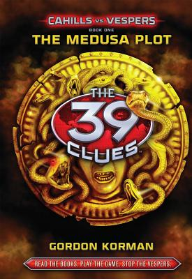 The 39 Clues: Cahills vs. Vespers Book 1: The Medusa Plot - Library Edition Cover Image