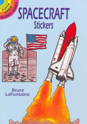 Spacecraft Stickers (Dover Little Activity Books) Cover Image