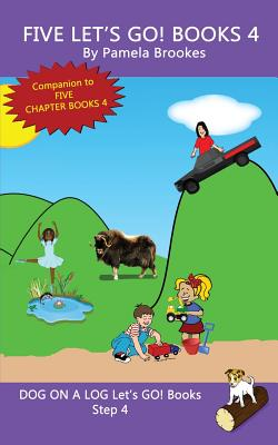 Cover for Five Let's GO! Books 4