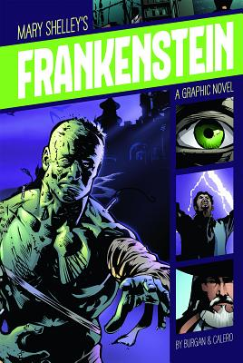 Frankenstein (Graphic Revolve: Common Core Editions) Cover Image