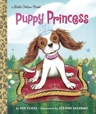 Puppy Princess (Little Golden Book) Cover Image