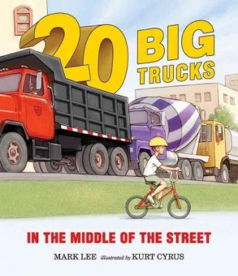 Twenty Big Trucks in the Middle of the Street Cover