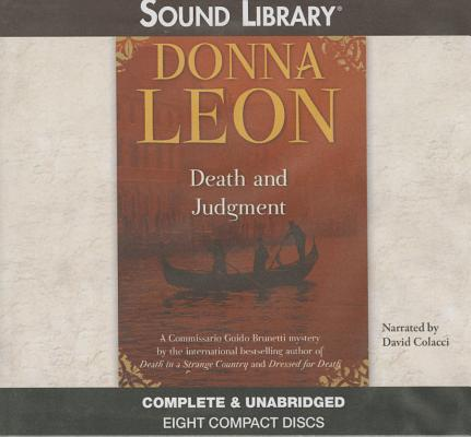 Death and Judgment Lib/E (Commissario Guido Brunetti Mysteries (Audio) #4) Cover Image