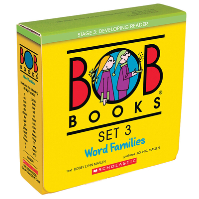 BOB Books Set 3: Word Families Cover Image