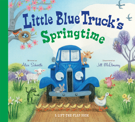 Little Blue Truck's Springtime Cover Image