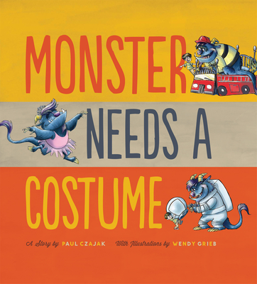 Monster Needs a Costume Cover