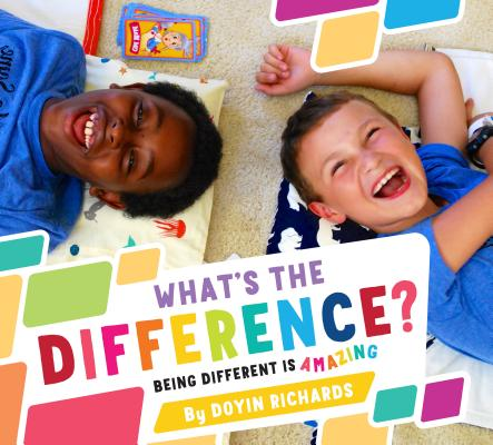 What's the Difference?: Being Different Is Amazing Cover Image