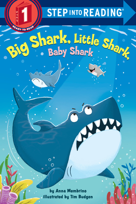 Big Shark, Little Shark, Baby Shark (Step into Reading) Cover Image