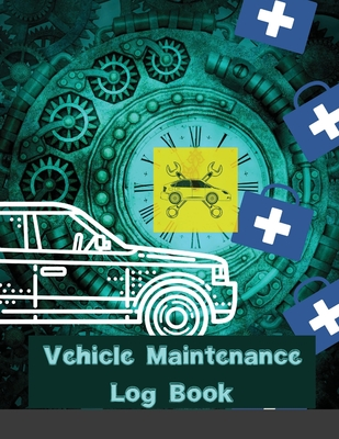 Vehicle Maintenance Log Book: Rust Bucket Edition Service and Repair Record Book For All Cars and Trucks Cover Image
