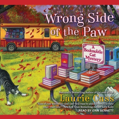 Wrong Side of the Paw (Bookmobile Cat Mysteries #6) Cover Image