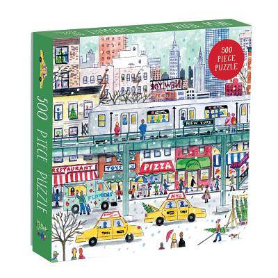 Michael Storrings New York City Subway 500 Piece Puzzle Cover Image