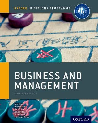 Ib Business and Management: Course Book: Oxford Ib Diploma Program Cover Image