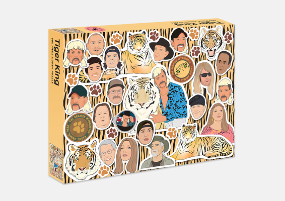 Tiger King 500 Piece Jigsaw Puzzle Cover Image