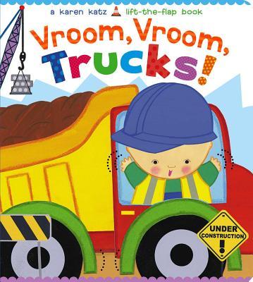 Cover for Vroom, Vroom, Trucks!