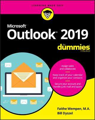Outlook 2019 for Dummies Cover Image