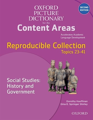 Oxford Picture Dictionary for the Content Areas Reproducible: Social Studies History & Government Cover Image
