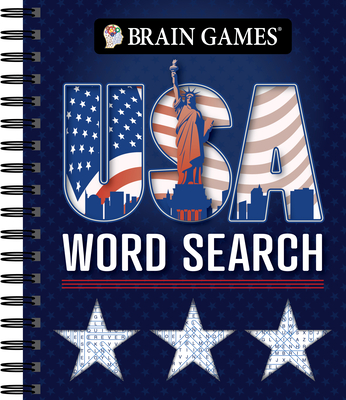 Brain Games - USA Word Search (#3) Cover Image