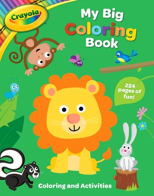 Crayola My Big Coloring Book (Crayola/BuzzPop) Cover Image