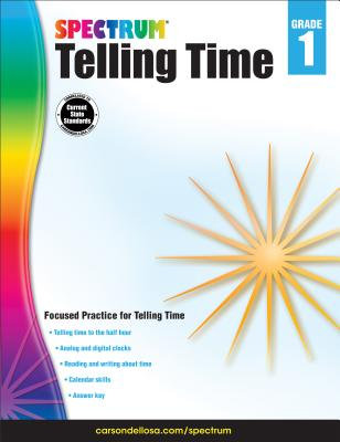 Telling Time, Grade 1 (Spectrum) Cover Image