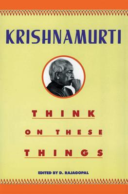 Think on These Things Cover Image