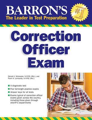 Correction Officer Exam (Barron's Test Prep) Cover Image