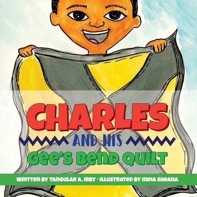 Charles And His Gee's Bend Quilt Cover Image