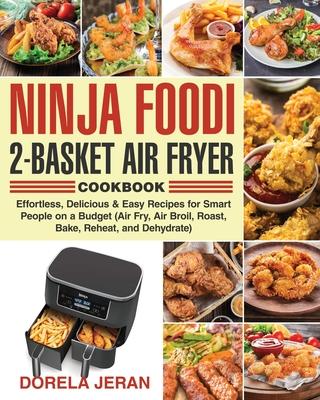 Ninja Foodi 2-Basket Air Fryer Cookbook Cover Image